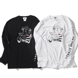 MOUSE LONG SLEEVE TEE(RUTSUBO×JOURNAL STANDARD)
