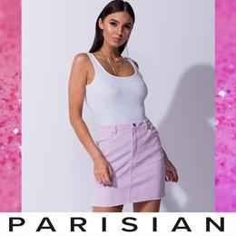 【取り寄せ】【Parisian】コーデュロイミニスカート
