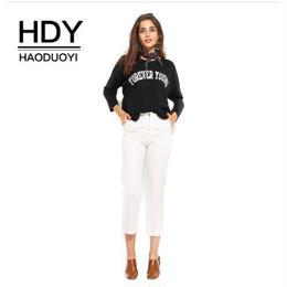 【Haoduoyi】【取り寄せ】カットアウトスリーヴロゴ長袖スウェット C15P81135