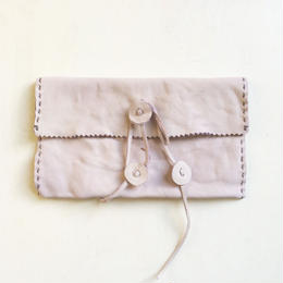 Leather Pouch / sumire