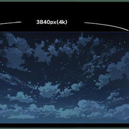 【イラスト用背景】素材_時差雲01_夜