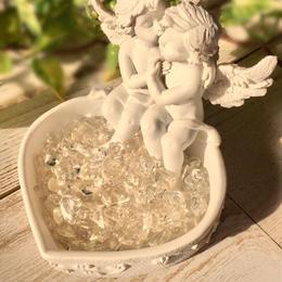 愛のツイン天使さざれ水晶