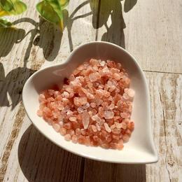 ハートプレートS ヒマラヤピンク岩塩