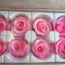 薔薇 ピンク 1箱8輪入り (着払い)
