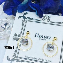 Honey ピアス 2  <P-H-2>