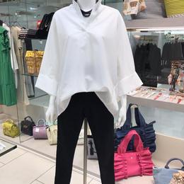 ホワイトシンプルシャツ〈A-147〉