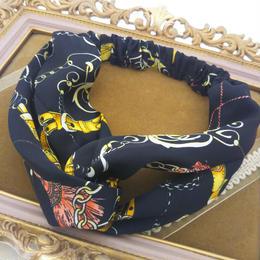 スカーフ柄カチューム〈HA-161〉