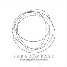 SARACOMPASS -kurumekasuri fablic- _rogo