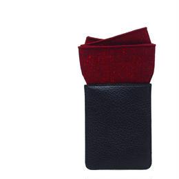 久留米絣ポケットチーフ(しかく)