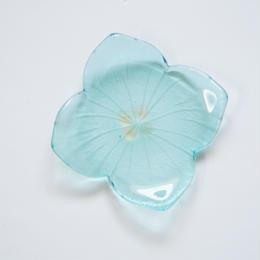 B品 紫陽花豆皿  ライトブルー