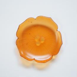 B品 花型豆皿 オレンジ