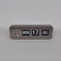 """【TWEMCO】 Calendar Clock  -BQ-38 """"Gray""""-"""