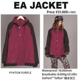 【中古品】SCAPE EA JACKET PYHTON PURPLE / Lサイズ  ウィメンズ 女性用 ウェアー スノーボード エスケープ