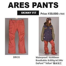 【新品】SCAPE ARES PANTS   BRICK  ウェアー スノーボードレディース パンツ 女性用