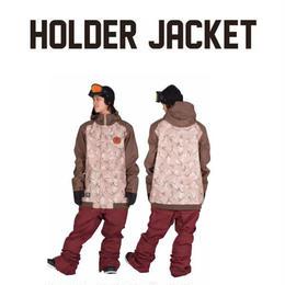 【中古品】SCAPE HOLDER JACKET  CAMO KHAKI / Lサイズ ウェアー スノーボード メンズ ジャケット