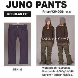 【中古品】SCAPE JUNO PANTS  WOMENS DENIM / Lサイズ  ウェアー スノーボードレディース パンツ 女性用