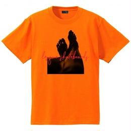 """LESQUE S/S TEE """"LEG""""  Safety Orange Tシャツ レスケ ショートスリーブ TEE"""