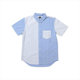 VOLCOM Mix Ox S/S ボタンダウンシャツ
