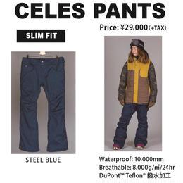 【新品】SCAPE CELES PANTS OLIVE STEEL BLUE / Lサイズ  ウェアー スノーボードレディース パンツ 女性用
