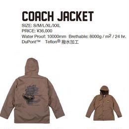 【中古品】SCAPE COACH ANGEL JACKET  BROWN / Lサイズ ウェアー スノーボード メンズ ジャケット