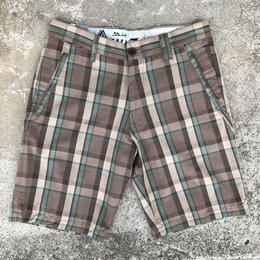 "VOLCOM GILFORD PLAID SHORT 23"" 30inc(STN) ショーツ パンツ"