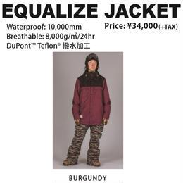 【新品】SCAPE EQUALIZE JACKET  BURGUNDY / Lサイズ ウェアー スノーボード メンズ ジャケット