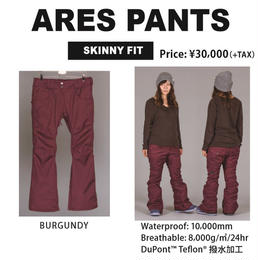 【新品】SCAPE ARES PANTS  PYTHON BLACK / Lサイズ ウェアー スノーボードレディース パンツ 女性用