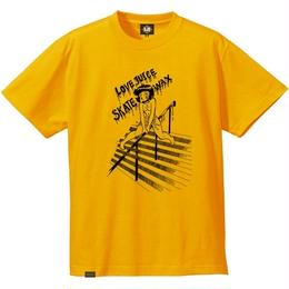 "EAZYMISS  ""LOVE Tシャツ""  GOLD  TEE ショートスリーブ イージーミス EAZYM!SS"