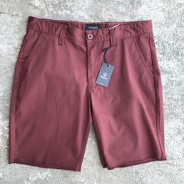 Brixton TOIL II STANDARD FIT CHINO SHORT BURGUNDY ショーツ ブリクストン パンツ