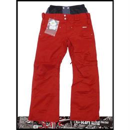 【新品】SCAPE ARES WOMENS PANTS(RED)Mサイズ ウェアー スノーボードレディース パンツ 女性用