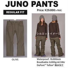 【中古品】SCAPE JUNO PANTS  WOMENS OLIVE / Mサイズ  ウェアー スノーボードレディース パンツ 女性用