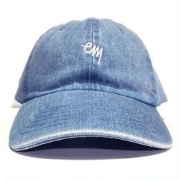 "EAZYMISS  ""KOMOJI6 PANEL CAP"" BLUE DENIM キャップ シックスパネル  6パネル デニム"