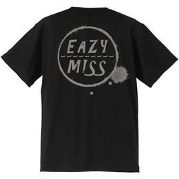 "EAZYMISS  ""SHIMI Tシャツ""  BLACK  TEE ショートスリーブ イージーミス EAZYM!SS"