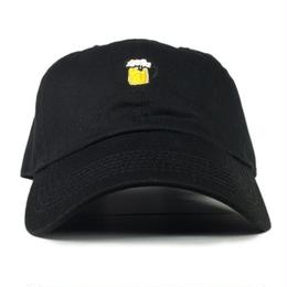 "EAZYMISS  ""BEER 6 PANEL CAP""  BLACK  キャップ シックスパネル"