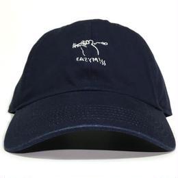 "EAZYMISS  ""NEZUMISS 6PANEL CAP""  NAVY キャップ シックスパネル  6パネル デニム"