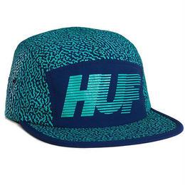 HUF MEMPHIS 10K VOLLEY NAVY キャップ 帽子