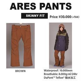 【新品】SCAPE ARES PANTS  BROWN ウェアー スノーボードレディース パンツ 女性用