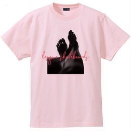 "LESQUE S/S TEE ""LEG""  PINK Tシャツ レスケ"