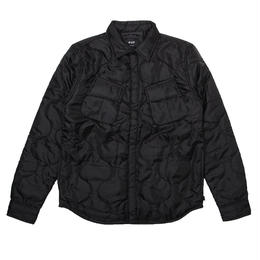HUF QUILTED BDU SHIRT BLACK