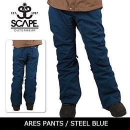 【中古品】SCAPE ARES PANTS  STEEL BLUE / Lサイズ ウェアー スノーボードレディース パンツ 女性用