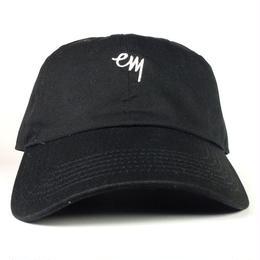 "EAZYMISS  ""KOMOJI6 PANEL CAP"" BLACK  キャップ シックスパネル  6パネル"