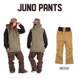 【中古品】SCAPE JUNO PANTS BEIGE WOMENS Lサイズ  ウェアー スノーボードレディース パンツ 女性用