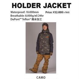 【中古品】SCAPE HOLDER JACKET CAMO/Lサイズ ウェアー スノーボード メンズ ジャケット