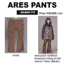 【新品】SCAPE ARES PANTS  KHAKI / Mサイズ ウェアー スノーボードレディース パンツ 女性用