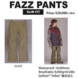 【中古品】SCAPE FAZZ PANTS TIGER  OLIVE / Lサイズ ウェアー スノーボード メンズ パンツ