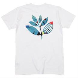 MAGENTA MIRO TEE - WHITE  Tシャツ ショートスリーブ