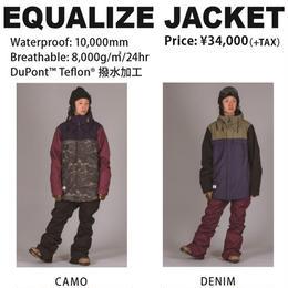 【新品】SCAPE EQUALIZE JACKET  CAMO / Lサイズ ウェアー スノーボード メンズ ジャケット