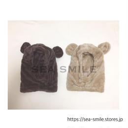 【即納】Smile bear帽子 ◡̈