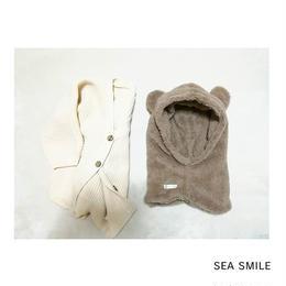 【予約】Smile bear帽子 ◡̈