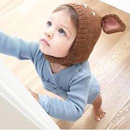 (即納)バンビさんニット帽